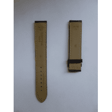 C610016927 brown leather strap 19/18 mm, without buckle, xl
