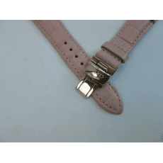 C600013599 PINK LEATHER STRAP 16MM
